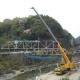 亀の瀬橋 撤去工事