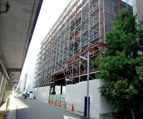 N駅前ビル新築工事