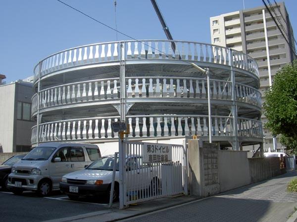 円形立体駐車場新築工事