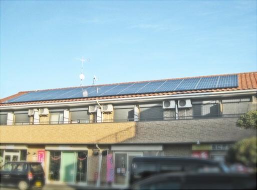 Tハイツ太陽光設置工事
