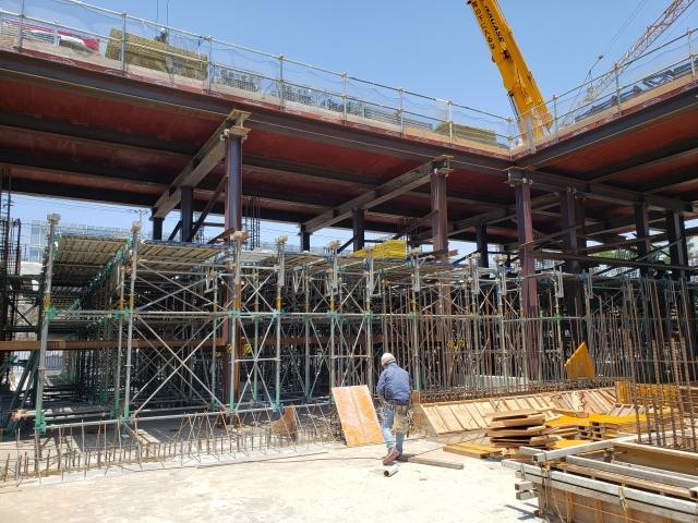 柴島浄水場上系配水池改良工事