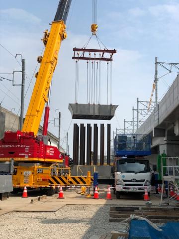 北陸新幹線 福井開発高架橋(02REED工法)